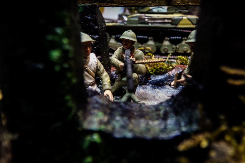 """Manoeuvres durant la """"Pas drôle de guerre"""" 1940. 100_0123"""