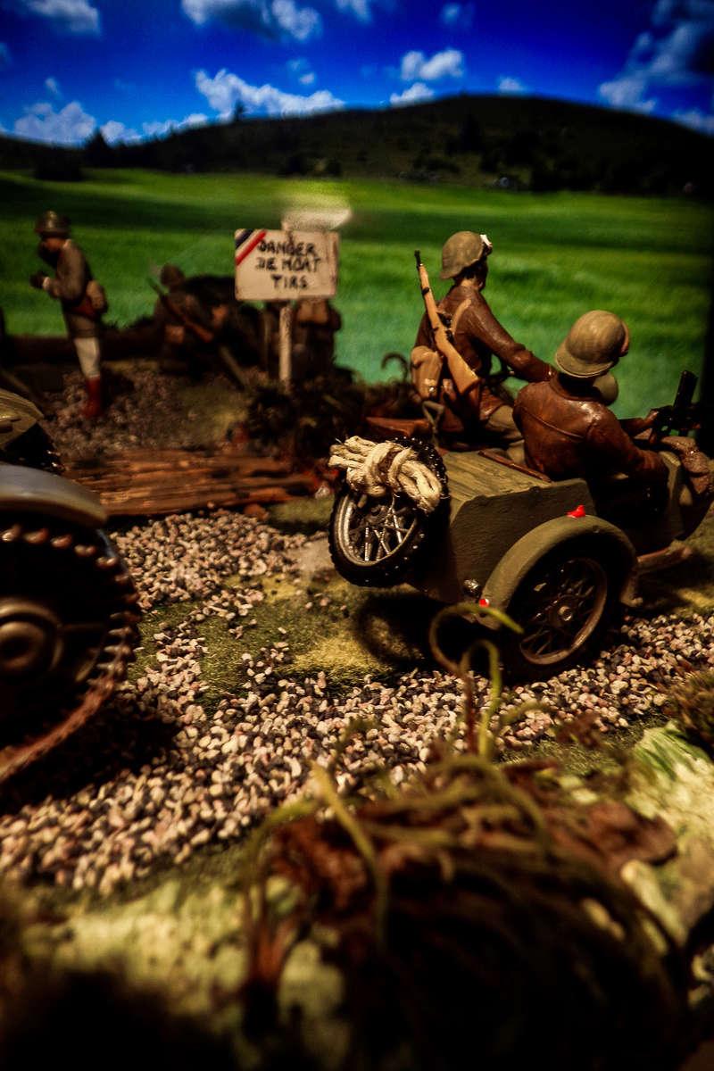 """Manoeuvres durant la """"Pas drôle de guerre"""" 1940. 100_0142"""