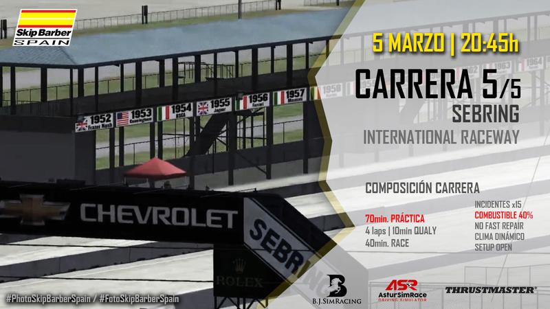 CARRERA 5/5 Sebring International Cabece11