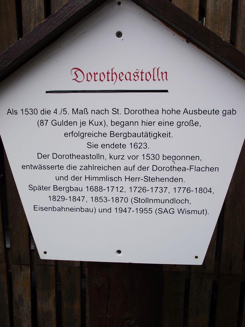 Dorothea Stolln in Annaberg-Buchholz (Sachsen) Doroth15