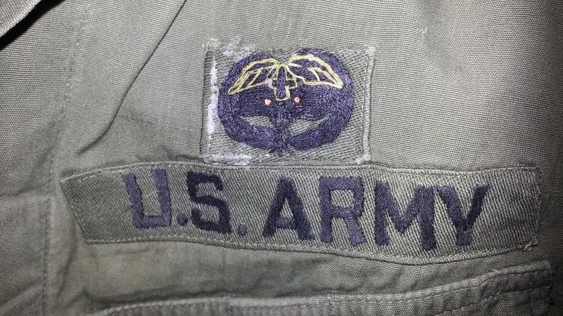 A Couple U.S. Army Combat Medic OG-107 Tops 20151112