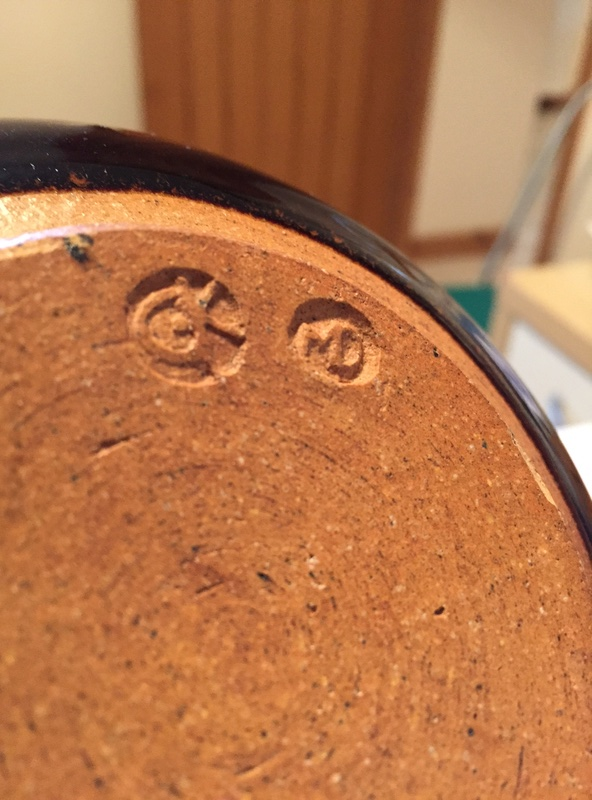 Wheatsheaf slipware bowl - Coldstone Kiln - Chris Harries & Mick Dixon  Img_1422