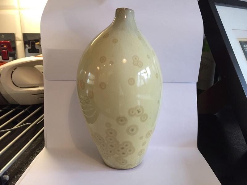 Vase with really unusual glaze Img_2025