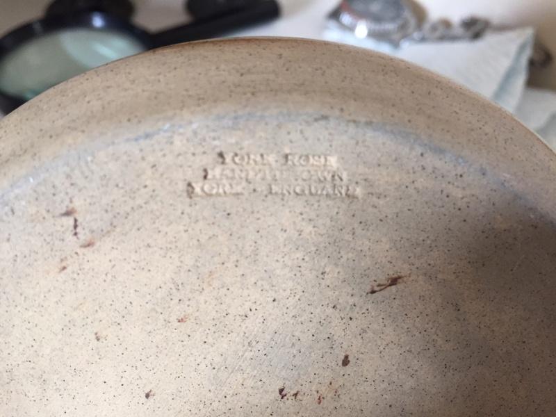 York Rose Pottery vase with J mark - probably Jerry Harper Img_2044