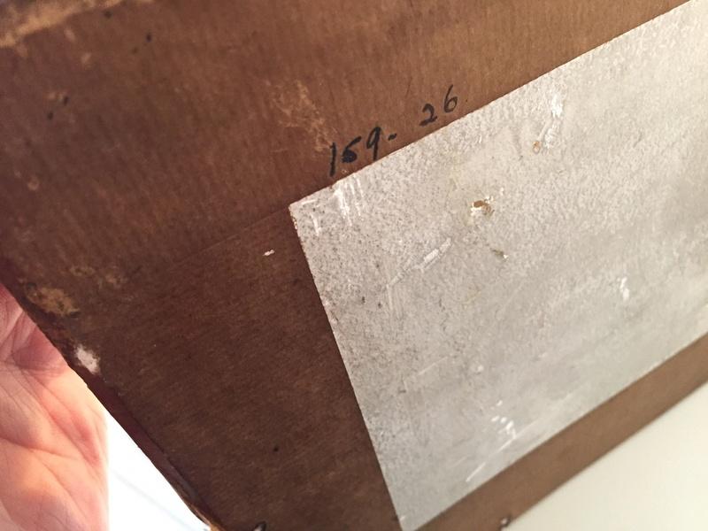 Chalkware wall plaque - Sophia Rosamond Praeger, Ireland Img_2053