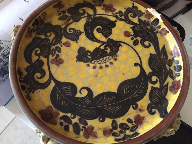 Stunningly decorated plate - GIUSEPPE MAZZOTTI Img_2214
