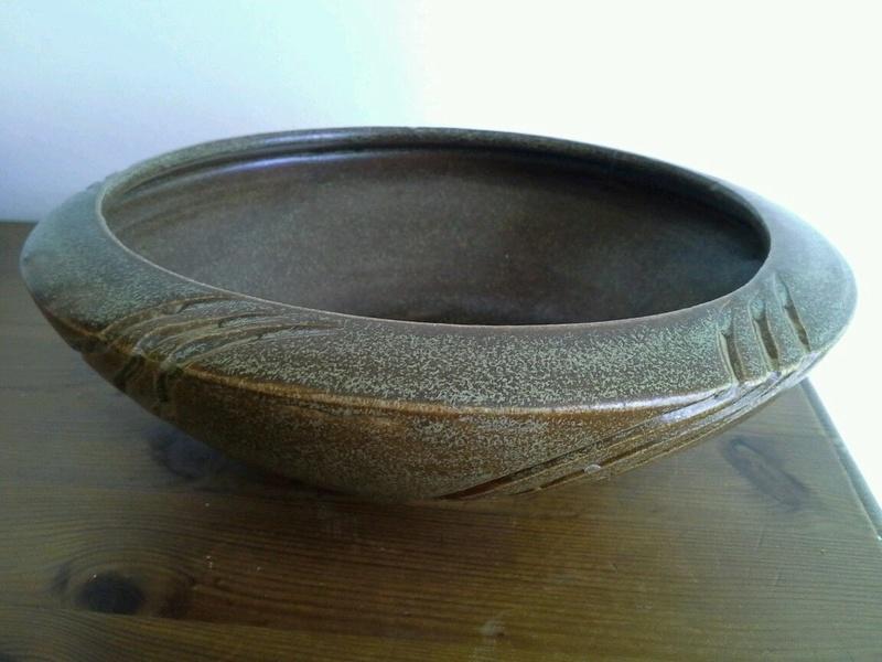 Hjorth stoneware bowl circa 1930? S-l16040