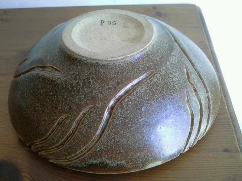 Hjorth stoneware bowl circa 1930? S-l16041