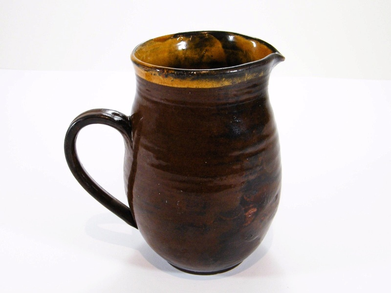 Slipware jug, SL mark  S-l16048