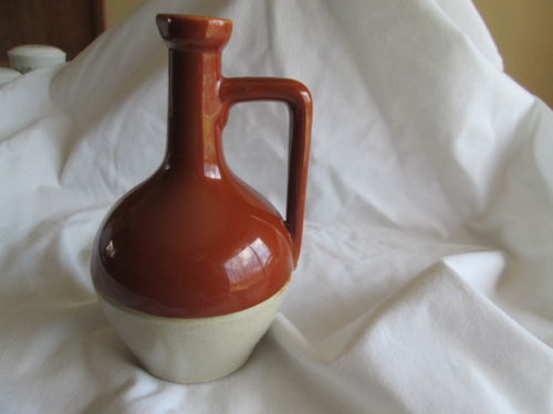 Classical Shaped Water Pitcher - metal cap - French or Denby S-l50012