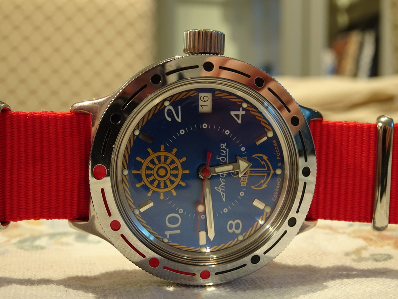 Remplacement lunette Vostok Amphibia Vostok10