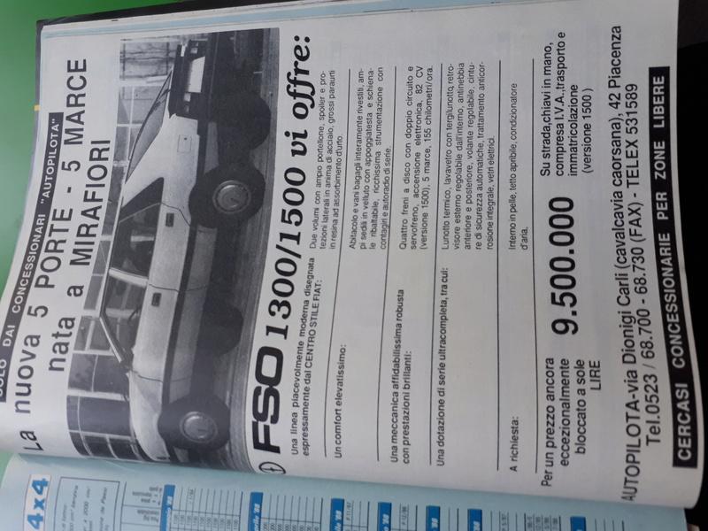Pubblicità auto dalle riviste di auto e non. - Pagina 3 20170534