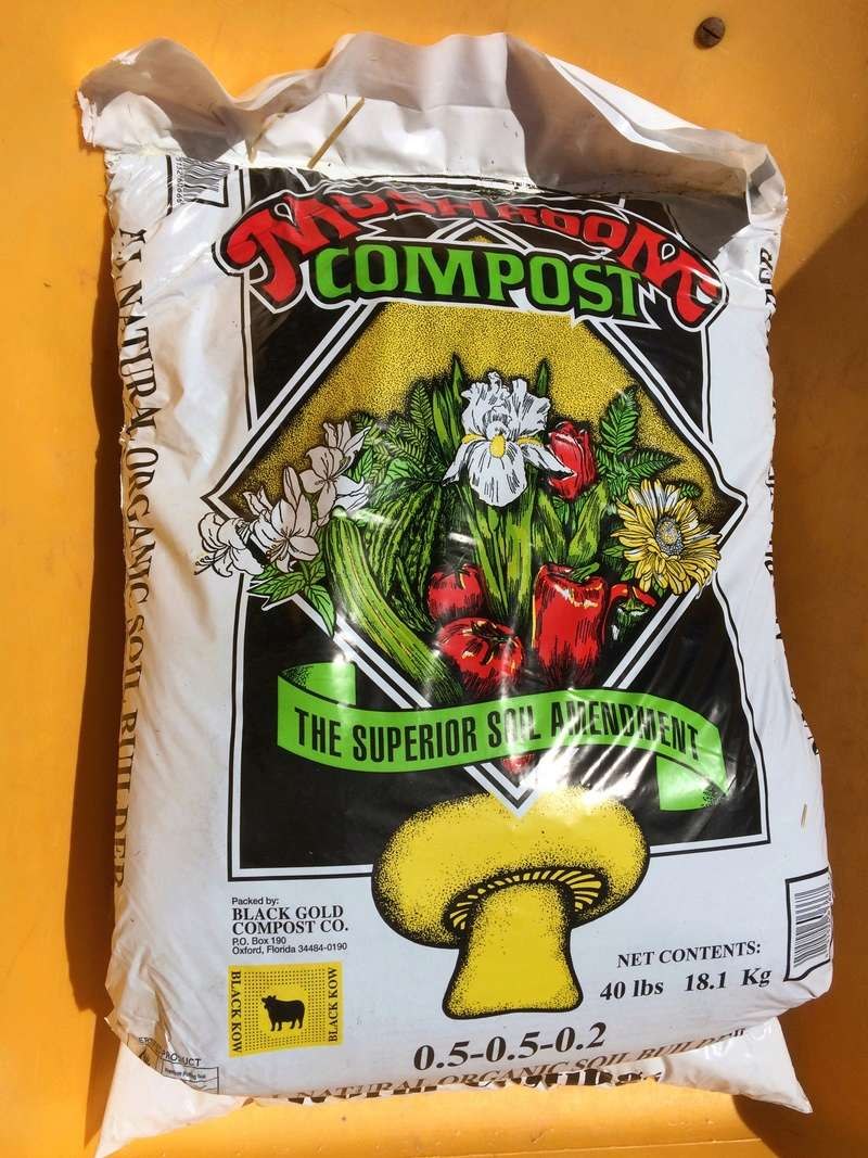 Recommended store bought compost - Photos of composts Mushro10