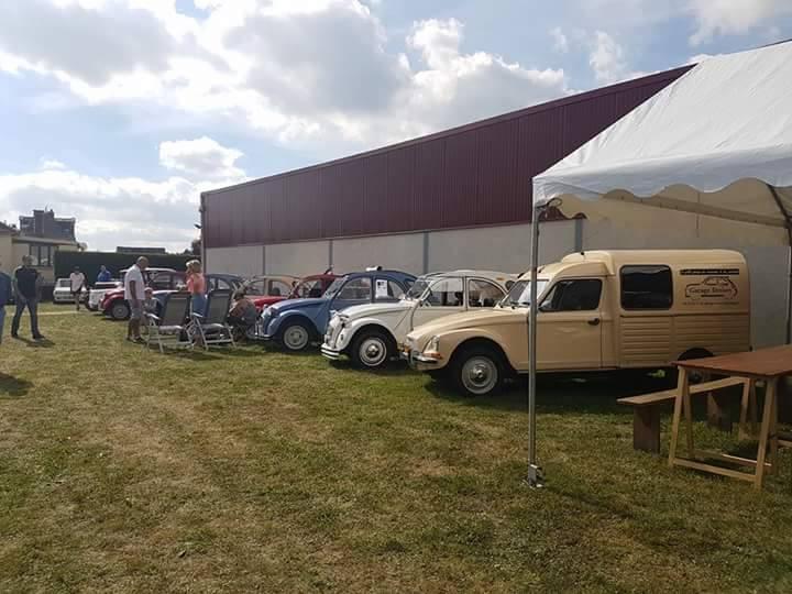 rassemblement de vehicules anciens à Monchaux-Soreng 27 aout 16924210