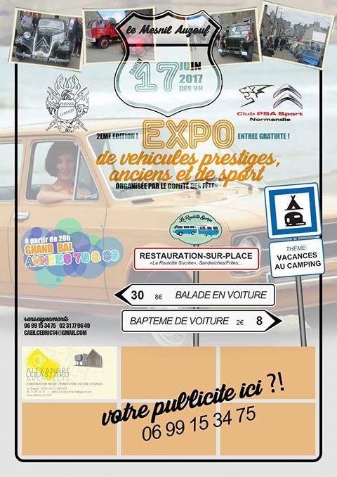 17 juin , 2e Exposition de véhicules anciens, le Mesnil Auzouf (14) 2017me10