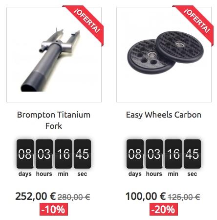 BRMadrid : boutique en ligne [pièces alternatives haute gamme pour Brompton] 112