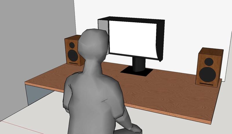 Diffusori - poco spazio scrivania Postaz10