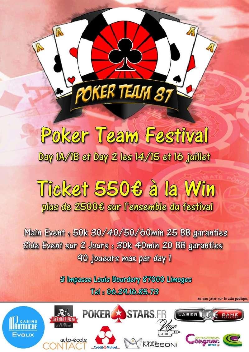 Main Event Poker Team 87 Festival - 14, 15 et 16 juillet 2017 18815310