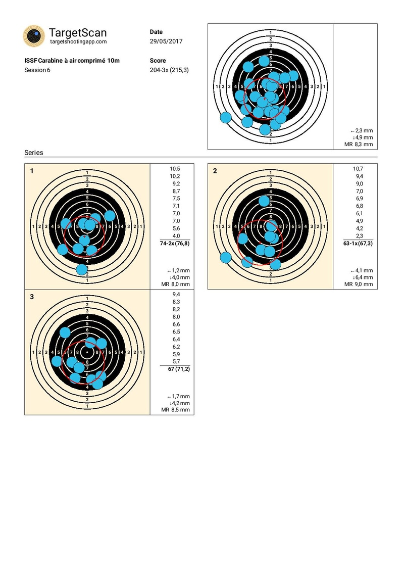 Walther LGV 4,5 à 40m - Page 2 Target11