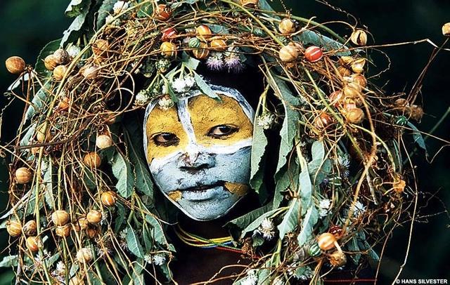 Les peuples de l'omo - Hans Silvester Foto-h11