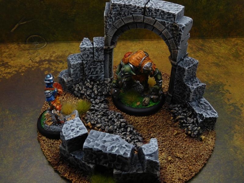 Début de peinture Orcs et Humains Dscn9910