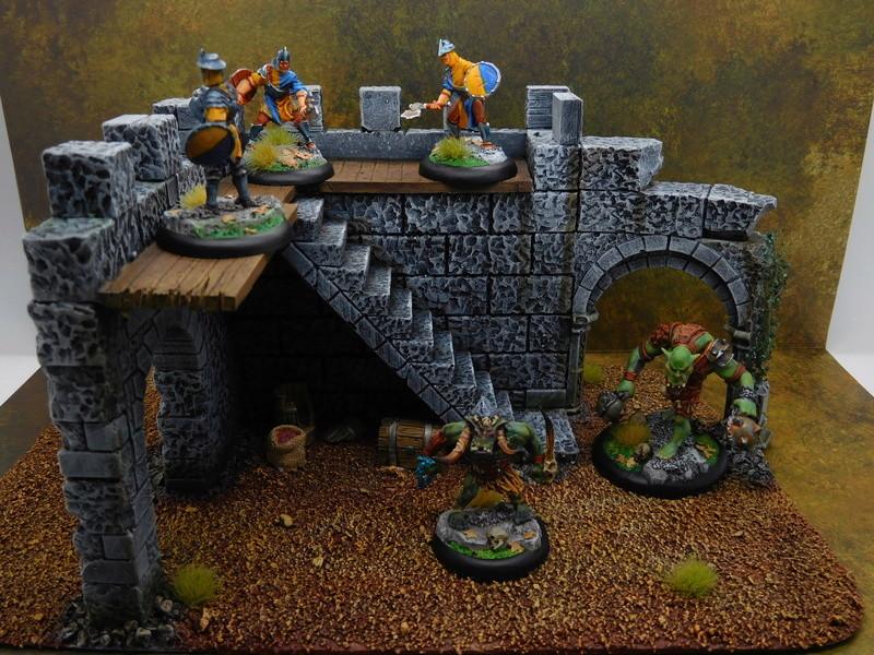 Début de peinture Orcs et Humains Dscn9911