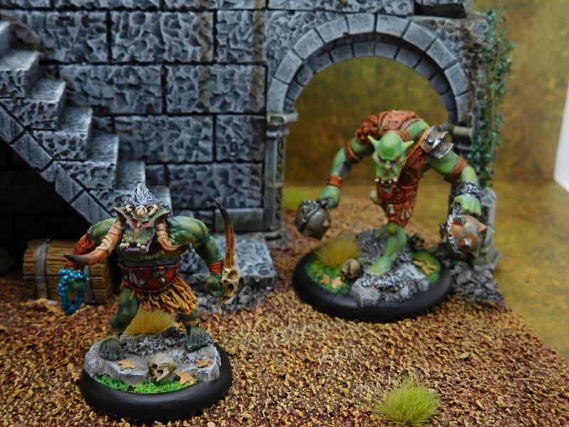 Début de peinture Orcs et Humains Dscn9912