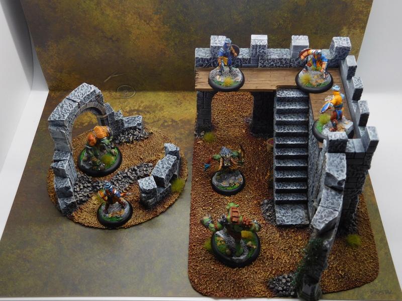 Début de peinture Orcs et Humains Dscn9913