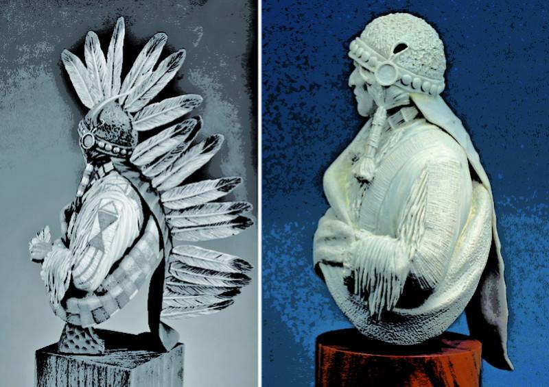 Buste Jicarilla Apache, un classique revisité (Fini !!!) Edan_014