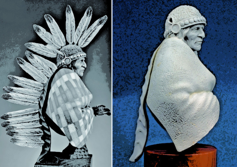 Buste Jicarilla Apache, un classique revisité (Fini !!!) Edan_015