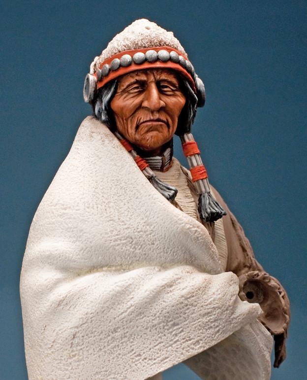 Buste Jicarilla Apache, un classique revisité (Fini !!!) Edan_016