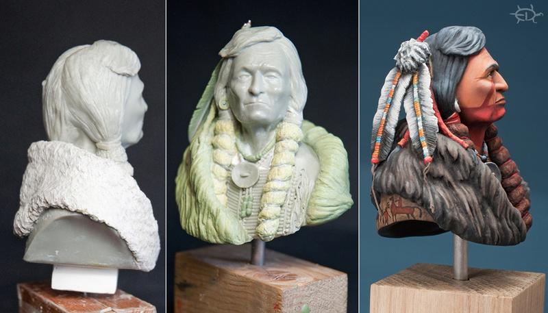 Buste de Geronimo 1/7 transformé (Terminé) Edan_023