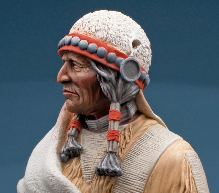 Buste Jicarilla Apache, un classique revisité (Fini !!!) Edan_111