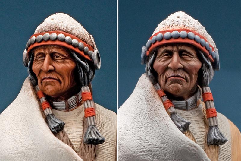 Buste Jicarilla Apache, un classique revisité (Fini !!!) Edan_112