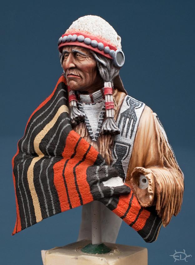 Buste Jicarilla Apache, un classique revisité (Fini !!!) Edan_212