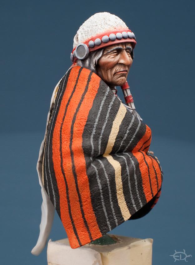 Buste Jicarilla Apache, un classique revisité (Fini !!!) Edan_214