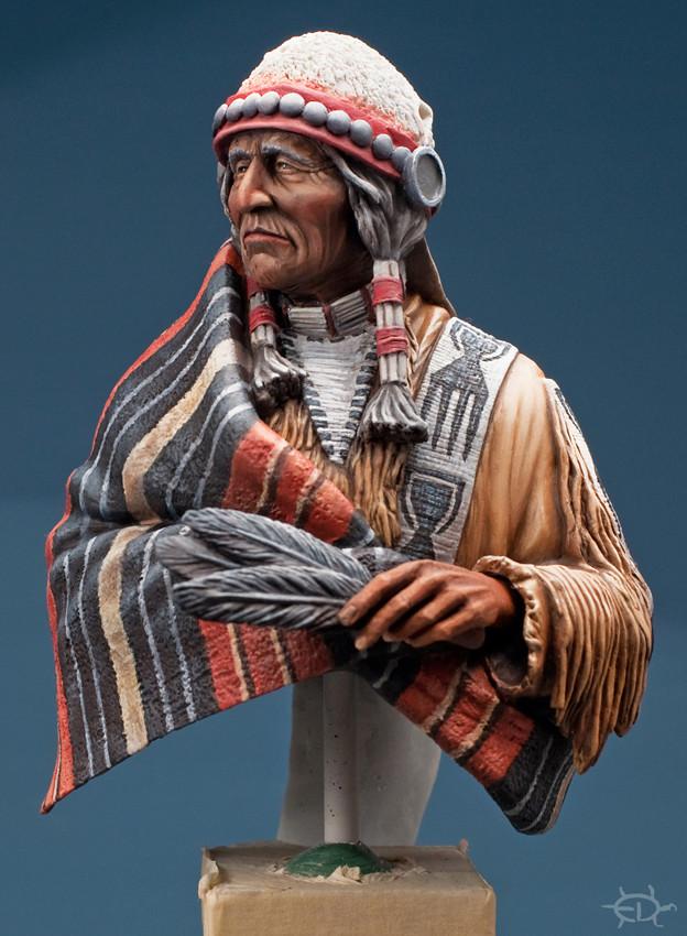 Buste Jicarilla Apache, un classique revisité (Fini !!!) Edan_218