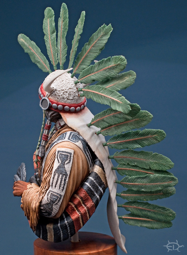 Buste Jicarilla Apache, un classique revisité (Fini !!!) Edan_222