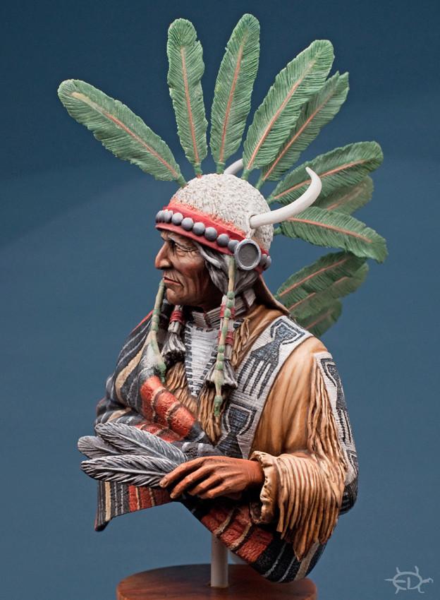 Buste Jicarilla Apache, un classique revisité (Fini !!!) Edan_224