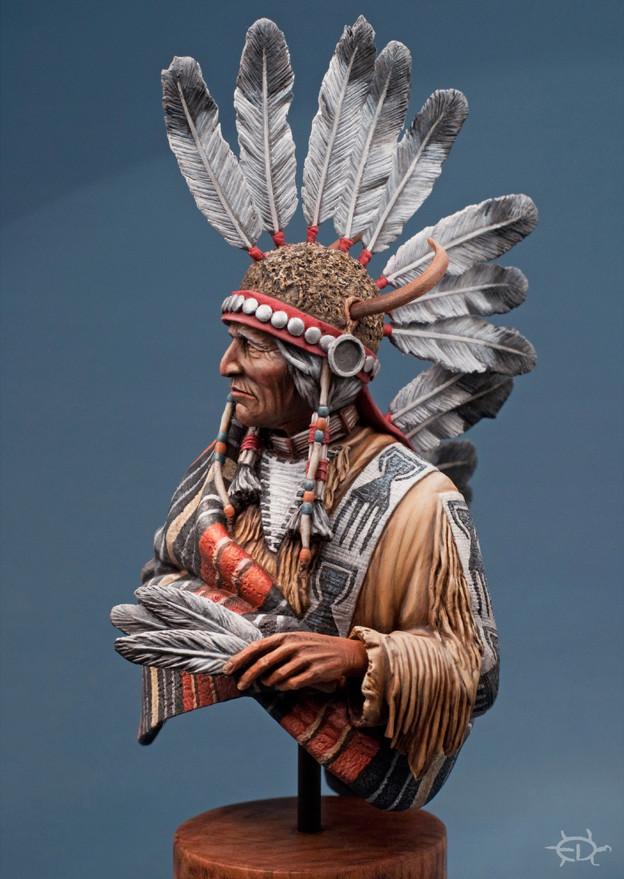 Buste Jicarilla Apache, un classique revisité (Fini !!!) - Page 2 Edan_312