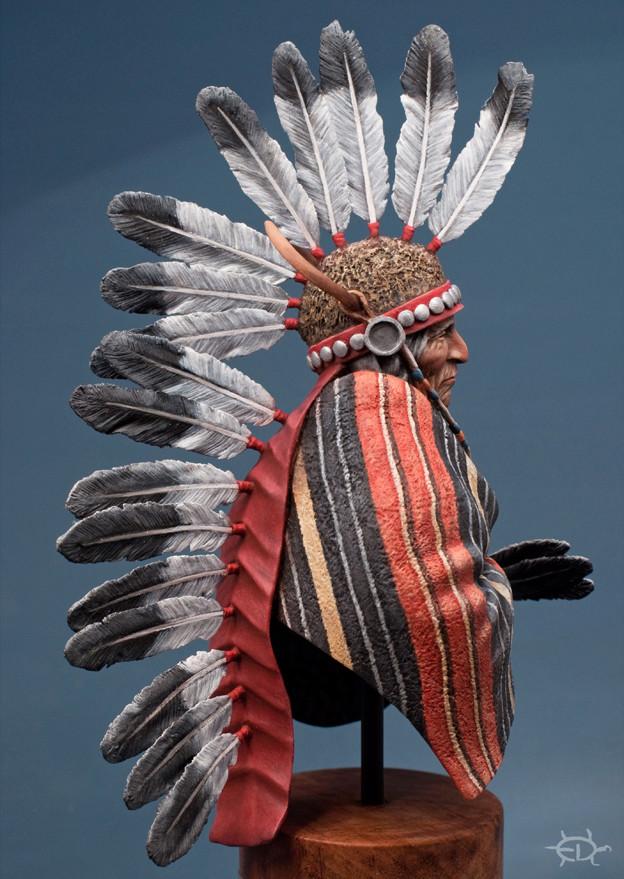Buste Jicarilla Apache, un classique revisité (Fini !!!) - Page 2 Edan_313