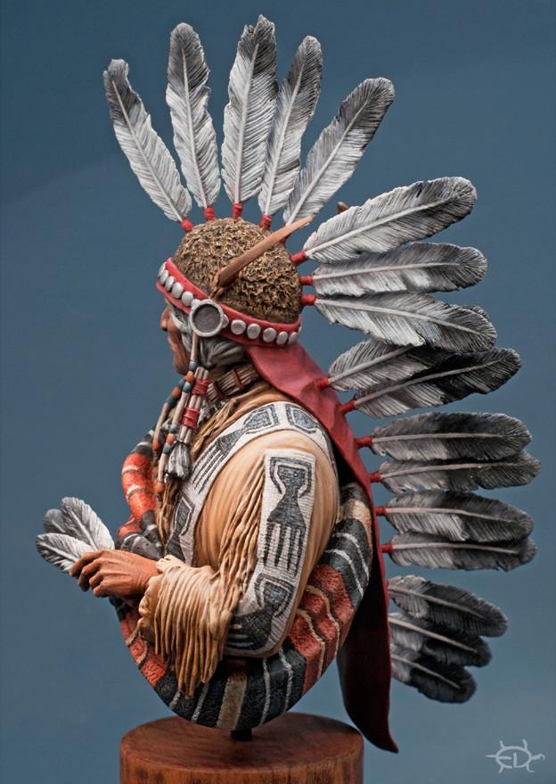 Buste Jicarilla Apache, un classique revisité (Fini !!!) - Page 2 Edan_314