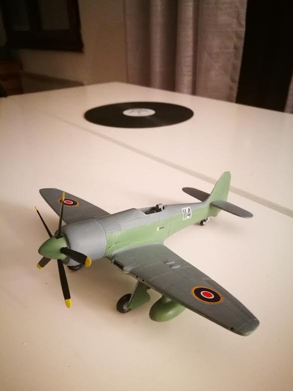 Première maquette : Hawker Sea fury FB 11 (Airfix 1/72) - Page 2 Unname10