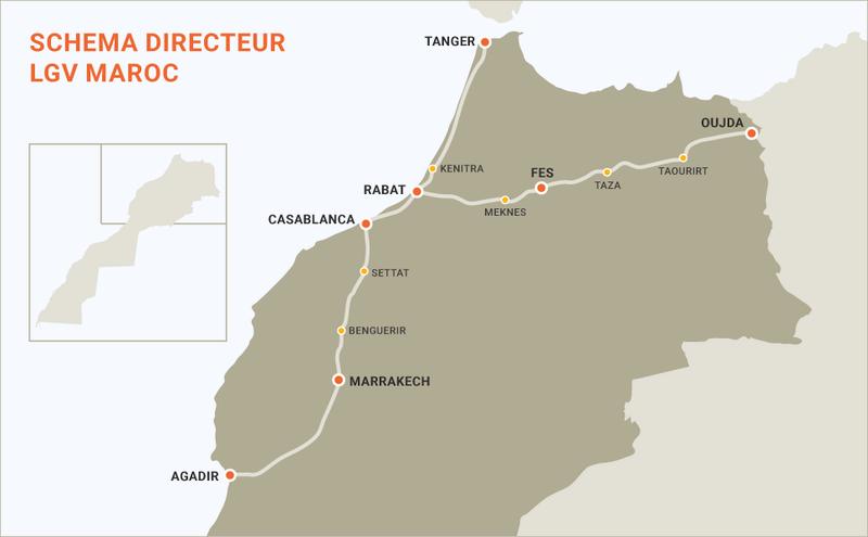 Chemins de Fer au Maroc - ONCF  Oncf10