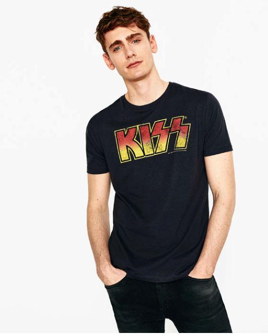 NUEVAS CAMISETAS DE HOMBRE DE KISS EN ZARA Kiss_z12