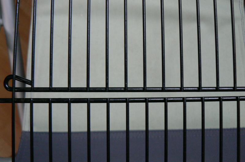 Rouille sur cage d'occasion P1000813