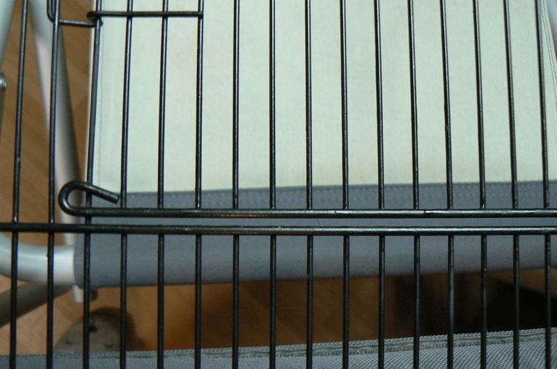 Rouille sur cage d'occasion P1000815