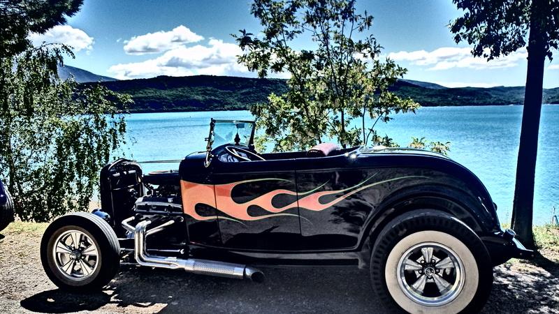 C3,Rods et Mustang au bord du lac et pique-nique entre amis P5080010