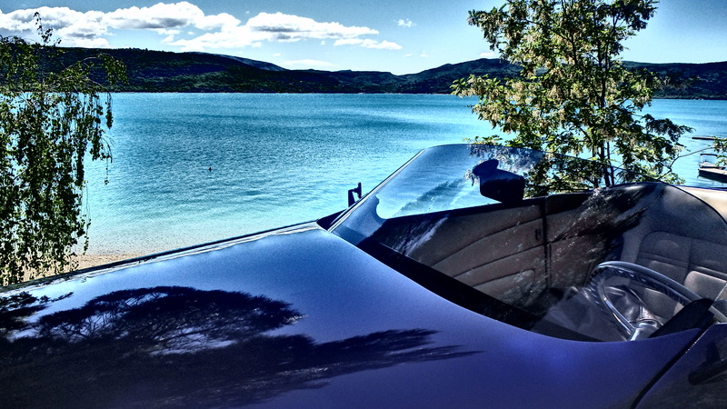 C3,Rods et Mustang au bord du lac et pique-nique entre amis P5080018