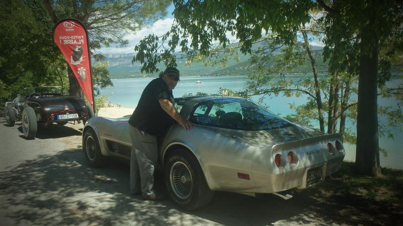 C3,Rods et Mustang au bord du lac et pique-nique entre amis P5080113